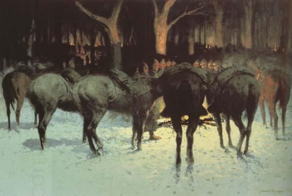 Frederic Remington The Winter Campaign (mk43)