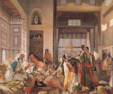 John Frederick Lewis An Intercepted Correspondance,Cairo (mk32) oil painting picture