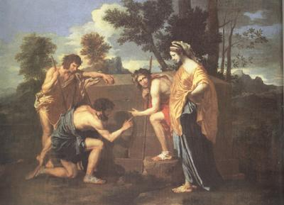 Nicolas Poussin The Arcadian Shepherds (nn03)