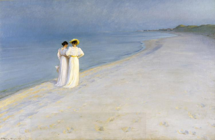 Peter Severin Kroyer Summer Evening on the Southern Beach (nn03)