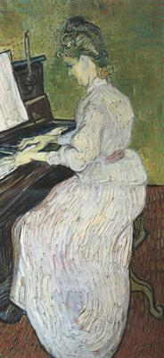 Vincent Van Gogh Marguerite Gachet at the Piano (nn04)