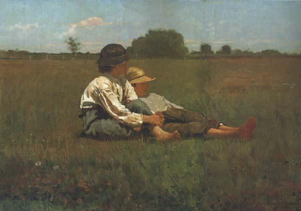 Winslow Homer Boys in a Pasture (mk44)