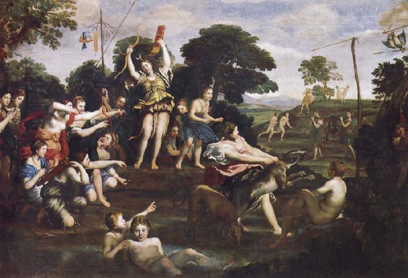 Domenichino Recreation by our Gallery oil painting picture
