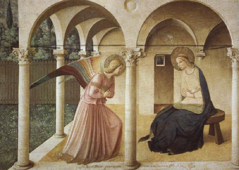 Fra Angelico Annunciation oil painting picture
