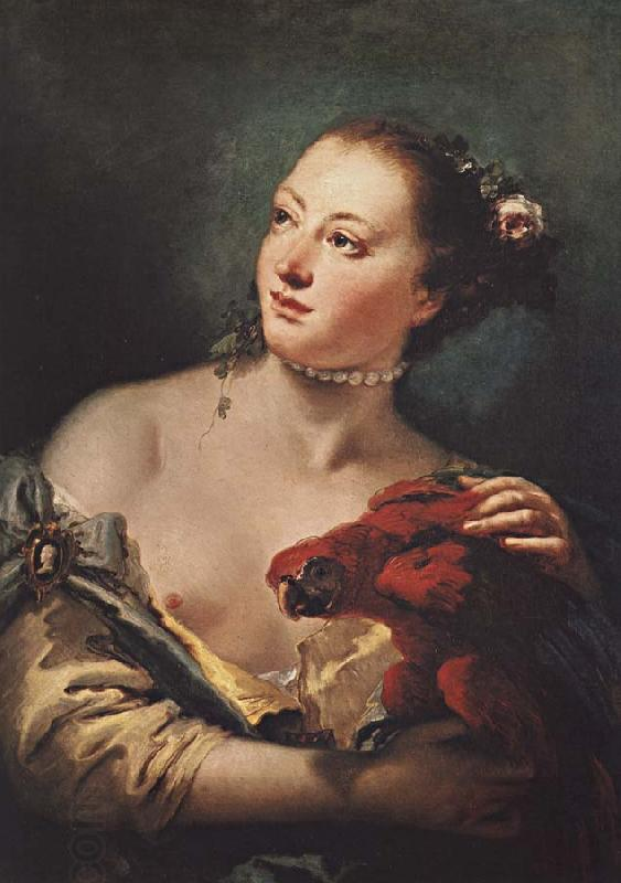 Giambattista Tiepolo Recreation by our Gallery oil painting picture