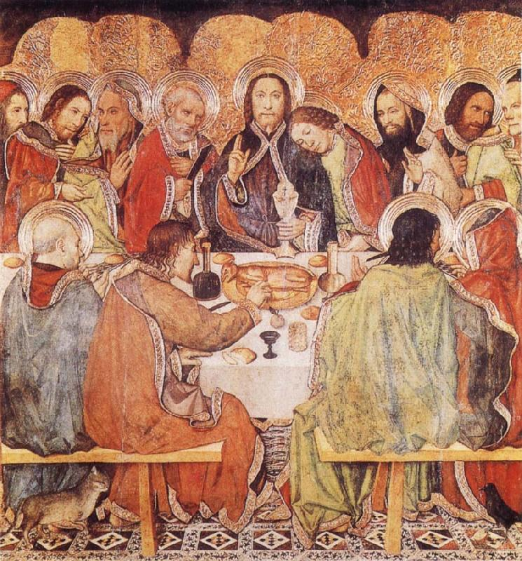 Jaume Huguet Last Supper oil painting picture