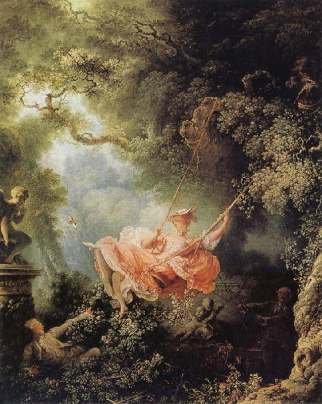 Jean Honore Fragonard The Swing oil painting picture