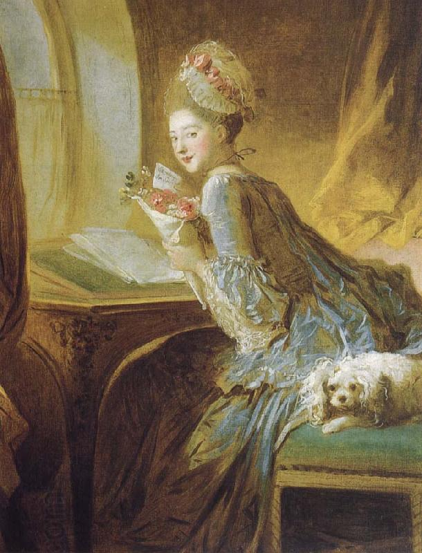 Jean-Honore Fragonard Recreation by our Gallery oil painting picture
