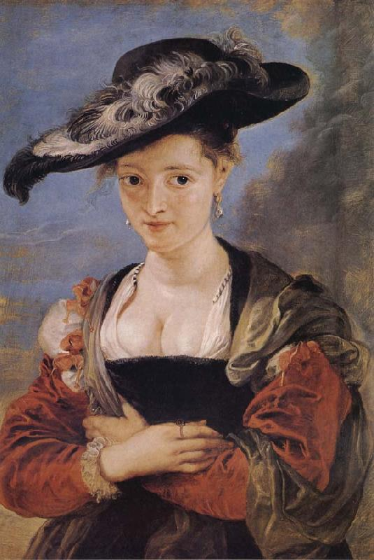 Peter Paul Rubens Portrait of Susanne Florment